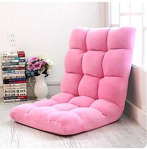 日式榻榻米椅懒人沙发床椅创意可爱休闲椅电脑椅单人折叠床上靠背