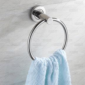 百家百饰 304不锈钢五金挂件 浴室置物架 毛巾挂毛巾环毛巾架