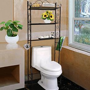 简单日子铁艺马桶架收纳架卫生间浴室置物架洗衣机架落地马桶架