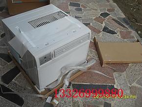 美的大3匹3p窗式空调,东芝压缩机遥控版送小支架及左右挡板