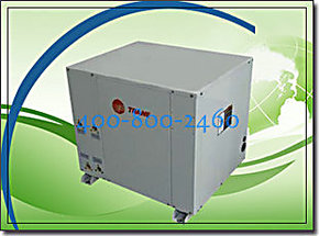 特灵地源热泵WPWE120,特灵地源热泵空调+地暖