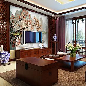 自贴墙纸大型壁画桂林雅景卧室客厅沙发电视背景墙纸壁纸自粘墙画
