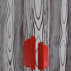 涂牛 液体壁纸 艺术涂料 仿木纹 木纹器SB-WD 4寸加6寸壁纸漆墙纸