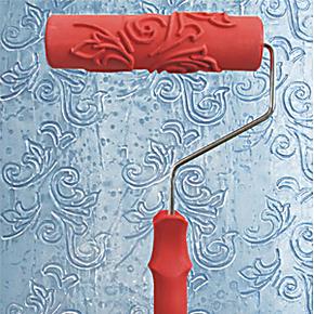 新款液体壁纸模具质感艺术涂料硅藻泥压花模具/液体墙纸模具EG216