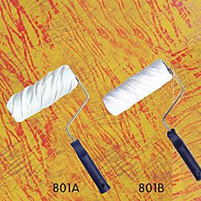 7寸彩纹棉布滚筒刷/壁纸漆/幻彩漆/液体壁纸质感艺术涂料滚筒工具