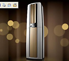 Daikin/大金  一级能效    大金空调柜机FVXF172MC-W