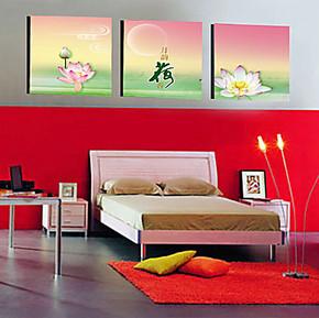 冰晶画 水晶画 无框画 工艺壁画 挂画 室内装饰画 冰雕画b267