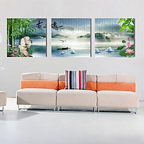 冰晶画 水晶画 无框画 工艺壁画 挂画 室内装饰画 冰雕画b265