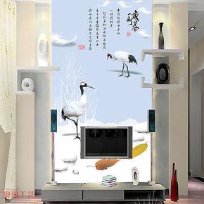 奥想大型壁画 电视墙背景 壁纸墙纸卧室 电视背景墙纸壁纸M00437