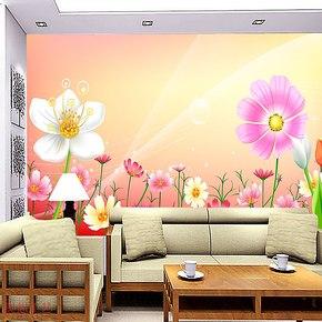 奥想电视背景墙纸壁纸 大型壁画 电视墙背景 客厅卧室墙纸KT0012