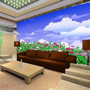 奥想电视背景墙纸壁纸 大型壁画 电视墙背景 客厅卧室墙纸KT0027