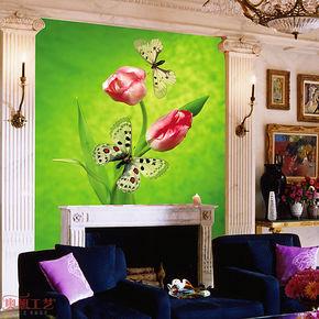 奥想电视背景墙纸壁纸 大型壁画 电视墙背景 客厅卧室墙纸M00295