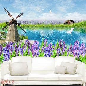 奥想电视背景墙纸壁纸 大型壁画 电视墙背景 客厅卧室墙纸M00434