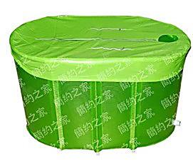 2013双人加长折叠浴缸 塑料沐浴桶 成人泡澡桶 非免充气洗澡桶