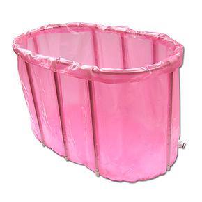 百事爽双人海绵底免充气折叠浴缸折叠浴桶游泳池沐浴桶木桶沐浴盆