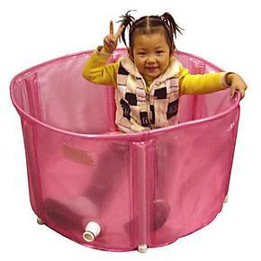 儿童游泳池超大号加厚折叠浴缸免充气婴儿洗澡沐浴桶宝宝浴盆