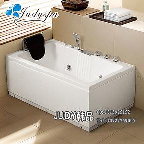 1.4米/珠光板浴缸/亚克力浴缸/长方形单人按摩浴缸/裙边缸/7818