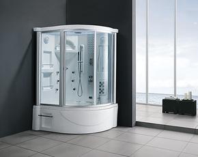 豪华卫浴亚克力按摩浴缸电脑蒸汽房整体淋浴房带收音按摩喷嘴包邮