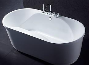 厂家直销浴缸(亚克力浴缸)椭圆形小浴缸8508特价