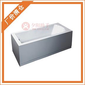 环保亚克力浴缸 正品浴盆压克力浴缸 浴池 EAGO益高卫浴GK154-3