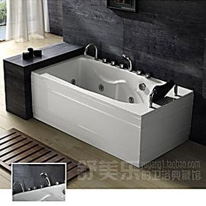 按摩冲浪浴缸压克力浴缸1.5米3041亚克力东陶双人浴盆浴池木桶