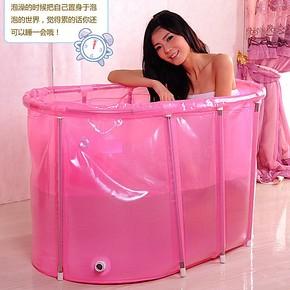 长形超大免充气成人儿童浴缸 熏蒸美颜家用排毒沐浴大码特价A348