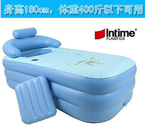 盈泰充气浴缸 加厚 成人保暖充气浴盆 可折叠浴缸 洗澡桶 游戏池
