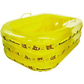 包邮 外贸正品 轻松小熊婴幼儿童洗澡充气浴盆浴床浴缸 便携浴缸