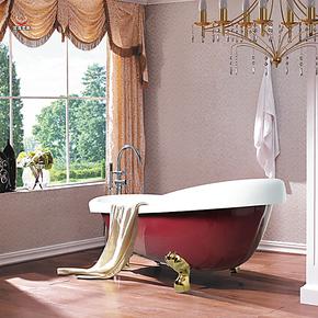 艾戈恋家卫浴贵妃浴缸独立式压克力浴缸亚克力浴缸特价促销AG-811