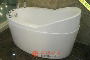 100%正品法恩莎 亚克力浴盆 1.3米五件套浴缸FW007Q 现货特价