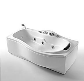 冲四钻法恩莎 卫浴浴缸亚克力 按摩浴缸 FC162