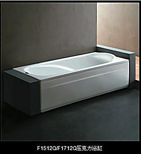 冲四钻正品 法恩莎压克力浴缸 法恩莎F1712Q 亚克力浴缸