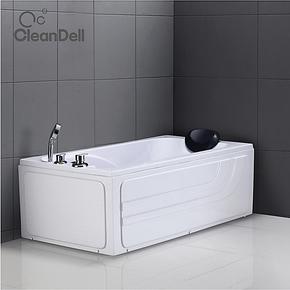康利达卫浴按摩浴缸普通浴缸非标定做亚克力复合板ABS小浴缸8225