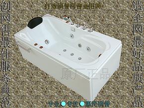 亚克力珠光板珍珠白按摩浴缸冲浪浴缸五件套浴缸单人1.5/1.4/1.6