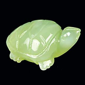 天然 岫玉摆件小乌龟-贵人-天然玉石玉雕摆件长寿龟玉石摆件09900
