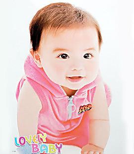 高清 婴儿图片照片相片墙宝宝海报 宝宝画像