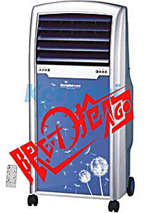 科瑞莱冷风扇冷风机空调扇制冷风扇单冷环保小空调LL05-13无冰晶