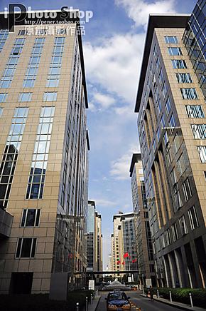 摄影作品相片墙照片图片明信片海报高清素材库玻璃高楼城市建筑竖