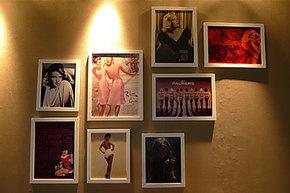 奥里工艺 照片墙 相框墙 复古海报墙 大框-美女类Girl-01