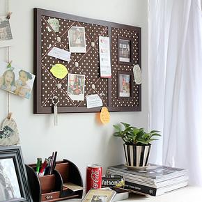 精耐特 时尚相片墙 创意告示板/留言板/软木照片墙/板饰艺品