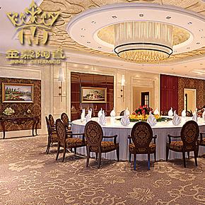 金慕 3D高清喷墨彩雕瓷砖装饰画 墙面装挂画 多款可选 1200X600