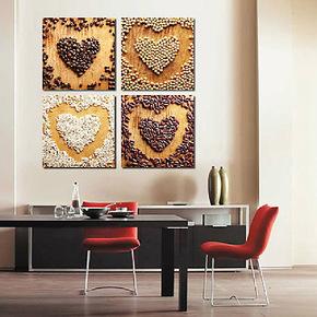 正2013客厅无框装修版画 现代装饰画做挂钟满百包邮SG2-213