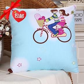 抱枕多用被枕头被 折叠靠垫被空调两用被子午休被 卡通全棉抱枕被