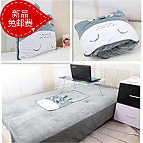 2米龙猫空调被抱枕被子 两用空调毯子靠垫被车用办公室午休被包邮
