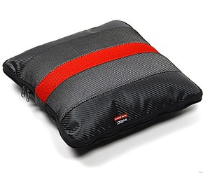 WRC运动奢华碳纤维汽车空调被抱枕被车用家用透气材质5色可选