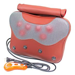 茗振 颈椎按摩器正品 颈部腰部 按摩垫包邮按摩靠垫 腰颈椎按摩枕