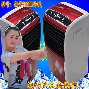 扬子美菱暖风机冷暖空调扇冷暖电风扇遥控风扇超大风力B电热扇