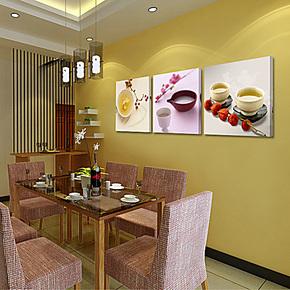 新品餐厅无框画餐厅装饰画饭厅装饰画饭厅无框画饭厅壁画挂画餐厅