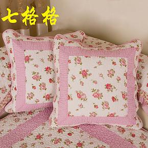 七格格沙发垫沙发抱枕靠垫绗缝皮沙发垫布艺纯棉抱枕套抱枕芯椅垫