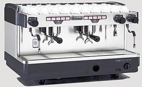意大利进口FAEMA飞马E98 A2 双头电控专业半自动咖啡机 商用